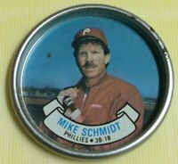 1987 Topps Mike Schmidt Baseball Card Coin #43 Philadelphia Phillies AS HOF