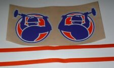 USFL PITTSBURGH MAULERS FULL SIZE FOOTBALL DECALS