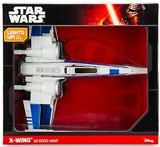 X-WING 3D Wall Light Star Wars Fighter Plane Night Light SENT FROM SYDNEY NSW