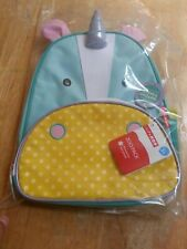 "BRAND NEW with tags: Skip Hop Toddler Backpack 12"" Unicorn School Bag - CUTE!"