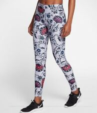 NIKE POWER LEGEND Women's Floral Printed Training Tights AA2231-027 Multi Size L