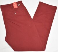 Levi's Pants Men's 511 Slim Fit Chino Stretch Twill 4-Pocket Pant Brick Red P289