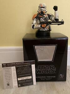 Star Wars Airborne Clone Trooper Gentle Giant Mini Bust Ltd Edition 2008 READ!!