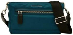 Marc Jacobs Teal Nylon Mallorca Easy Messenger Bag Shoulderbag EUC