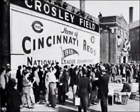 Crosley Field #4 Photo 8X10 - 1940 Cincinnati Reds Buy Any 2 Get 1 FREE