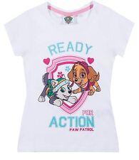Girls T-Shirt Short Sleeve Top Disney Princess Frozen My Little Pony Cotton New