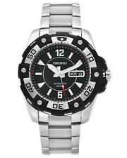 Seiko Men's SKZ271 Sport Diver's Stainless Steel Automatic 200M Black Dial Watch