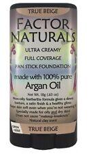 Factor Naturals True Beige 125 pan stick foundation w/Argan oil (not max factor)