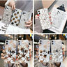 For iPhone 11 Pro Max XR XS X 8 7 Plating Cute Flower Leaf Clear Soft Case Cover