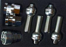 Verrouillage boulon de roue rayon 28mm pour AUDI VW 5 stud