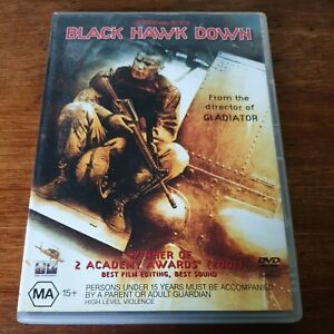 Black Hawk Down DVD R4 VERY GOOD - FREE POST