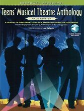 Broadway Presents! Teens' Musical Theatre Anthology: Male Edition NEW 000322201