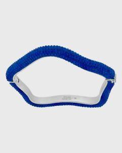 Swarovski Atelier Crystal Tigris Blue Bracelet, Palladium Plated 5484516, NIB
