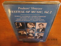Producer's Showcase Festival of Music Vol 2 DVD Brand New Sealed Max Rudolf 1956