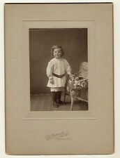 RUBEN PLUMMER AND HIS TOYS: ADORABLE TWO YEAR OLD IN MEDINA, NY (VINTAGE PHOTO)