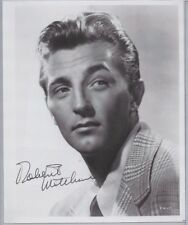 Robert Mitchum Hollywood Actor Singer TV Star Autographed 8x10 Photo JSA COA