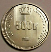 500 Francs 1990 Frans -  Vlaams  - German Belgique Belgïe