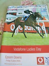 VODAFONE LADIES DAY RACECARD 2005