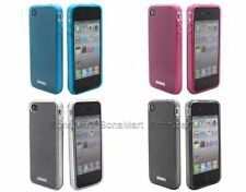 BonaMart Silicone/Gel/Rubber Mobile Phone Cases, Covers & Skins for iPhone 4s