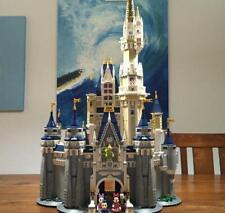[NEW!!] 4080piece Disney Princess Castle Lego Building Blocks Lockdown Pass time