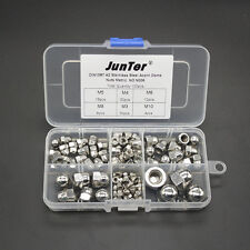 Qty100 M3-M10 A2 Stainless Steel Hex Nuts Metric DIN934 Assortment Kit NO.N006