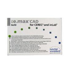 IVOCLAR VIVADENT IPS E.MAX CAD CEREC HT D2 / C14 5 BLOCKS EMAX