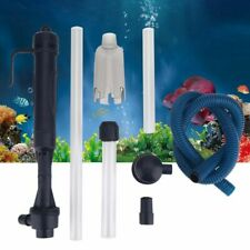 Electric Aquarium Pump Acrylic Filter Fish Tank Water Cleaning Changing Tools