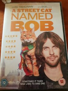 Dvd A street cat name bob (seals)