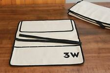 NEW Canvas Tool Roll-Up Holds 7 Tools Woodworker Mechanic Wrench Carry Case Box