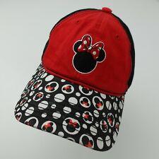 Minnie Mouse Disney Girls Kids Adjustable Baseball Ball Cap Hat