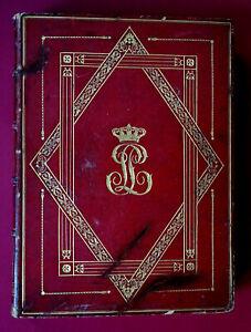1842 Aus der Bibliothek von KÖNIG LOUIS-PHILIPPE I. von Frankreich