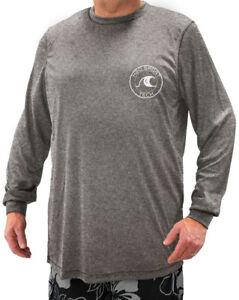 Big & Tall H2O Sport Tech Long Sleeve Swim Shirt - Loose Fit 2XL - 5XLT UPF 50+