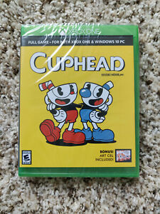 Cuphead Xbox One Case And Art Cel Only New Sealed Limited 1 of 5 NO GAME INCLUDE