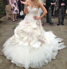 Ian Stuart Flowerbomb Wedding Dress Size 8-10