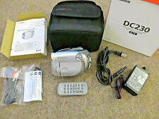 Canon Dvd Camcorder Ntsc Dc230 Video Camera Transfer Recorder