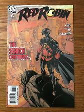 Red Robin #6 DC Comics 2009 NM Chris Yost First 1st Print 2010
