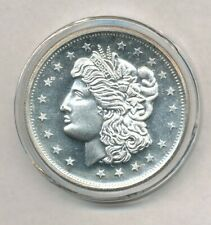 Morgan Dollar Design Proof- Like 1 oz .999 Fine Round Exact Shown