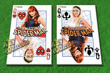 Marvel Amazing Spider-man #801 KRS Comics Mike Mayhew MJ Gwen Stacy VARIANT SET