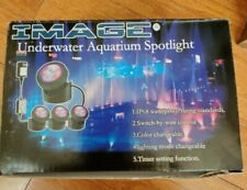 IMAGE UNDERWATER AQUARIUM SPOTLIGHT COLOR CHANGEABLE SWITCH BY WIRE CONTROL...