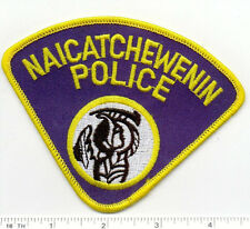 Naicatchewenin Police (Canada) Shoulder Patch from the 1980's
