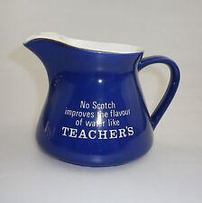 TEACHERS SCOTCH WHISKY WATER JUG