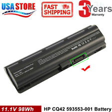 Notebook 12 Cell Battery for HP/Compaq MU06 MU09 593553-001 593554-001 G62 CQ42