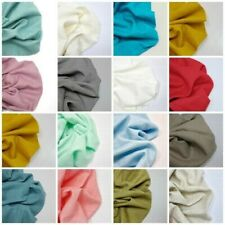 100% Bio Délavé Lin Tissu Mode Fabrication de Robes Matière Intérieur
