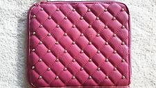 Tablet Hülle Tasche gesteppt Nieten pink INTRIGUE accessoire modern ipad 50252