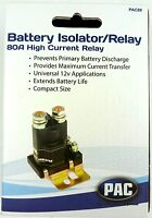 Pac-80 High Current Power Relay/Battery Isolator - PAC-80, Weatherproof