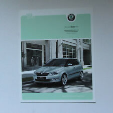 SKODA FABIA BLUELINE AND SILVERLINE BROCHURE 2003 6 PAGES