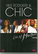 DVD - NILE RODGERS & CHIC : LIVE AT MONTREUX 2004 / CONCERT / COMME NEUF