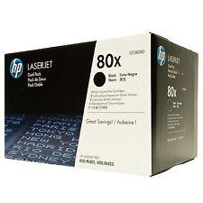 GENUINE HP 80X CF280XD HP 80X LASERJET 400 M401, 400 MFP, M425 Series Sealed