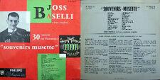 DISCO 33 GIRI    JOSS BASELLI souvenirs musette