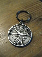National Airmotive Nac 30th Anniversary 1960 - 1990 Rolls Royce Engine Keychain